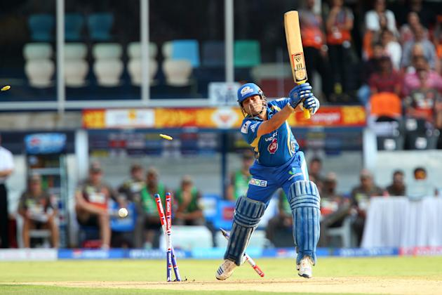 Sachin Tendulkar [Mumbai Indians]: 14 matches, 287 runs with strike rae of 124.24. Most fans would consider it blasphemy for Tendulkar to be part of this list, but the numbers don't lie. Batting at th