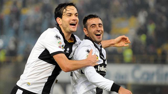 Serie A - No Parolo-Matri swap, say Parma
