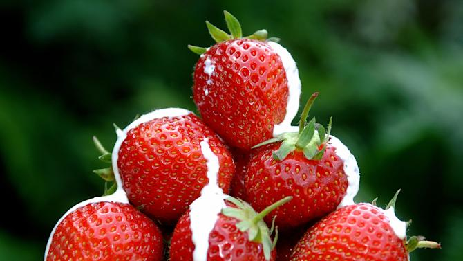 Boost in strawberry sales