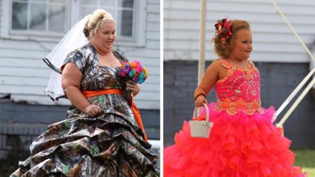 'Honey Boo Boo's' Mama June and Alana Thompson seen on May 5, 2013  -- TLC
