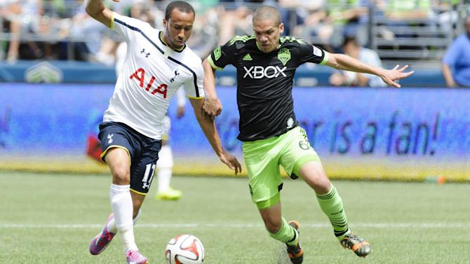 Premier League - Tottenham play out six-goal thriller against Seattle