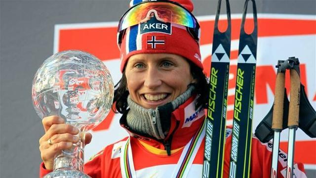Skiing - Reigning champion Bjoergen starts new World Cup season in style