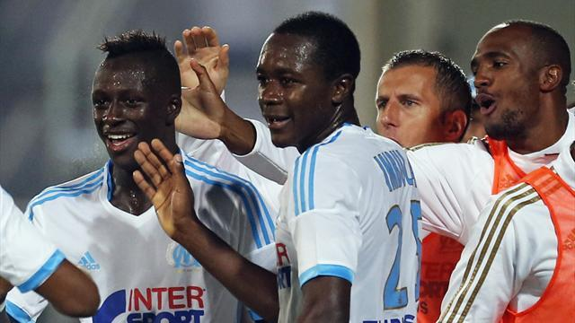 Ligue 1 - Marseille joint top after St Etienne win