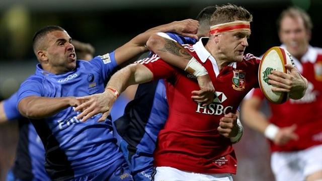 Lions Tour - Lions demolish Force, Healy injured and cited for bite