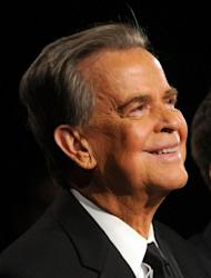 Legendary US television presenter and producer Dick Clark, pictured in 2010, known for introducing rock and roll music to millions of Americans, died of a heart attack Wednesday at age 82, his family said