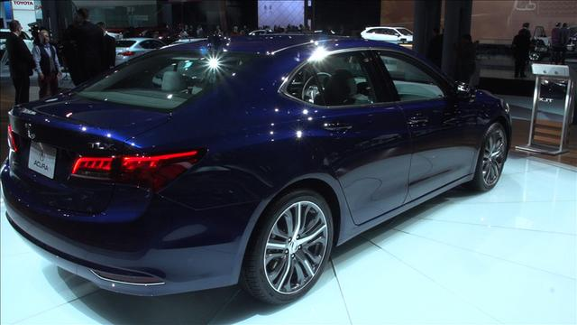 2015 Acura TLX gets a new look, new name