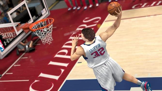 """This video game image released by 2K Sports shows an animated image portraying Los Angeles Clippers' Blake Griffin in a scene from """"NBA 2K13."""" (AP Photo/2K Sports)"""