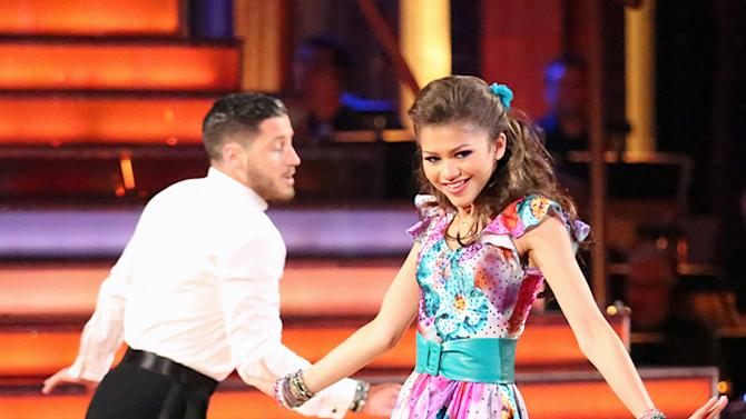 Val Chmerkovskiy and Zendaya (5/6/13)