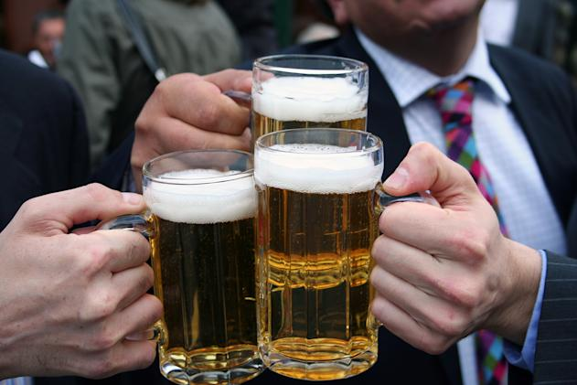 The rising price of alcohol has helped to sustain inflation