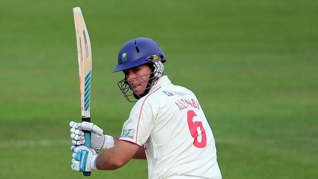 County - Allenby leads Glamorgan's charge