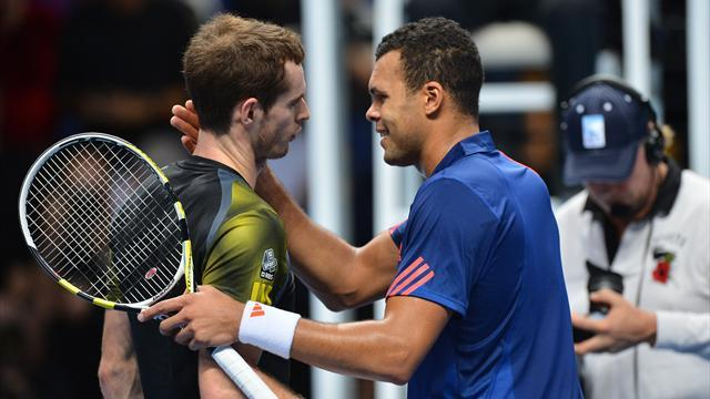 ATP World Tour Finals - Murray bosses Tsonga to reach semi-finals