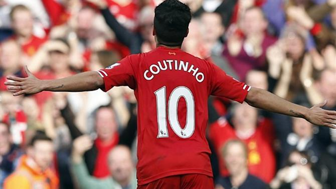 Premier League - Liverpool hoping to tie down Coutinho