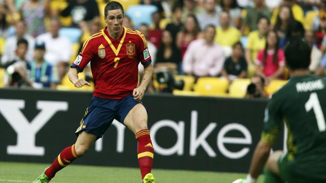 Confederations Cup - Torres hits four as Spain maul plucky Tahiti