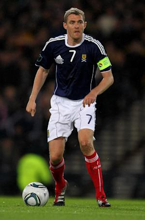Steven and Darren Fletcher, pictured, are set to play for Scotland again