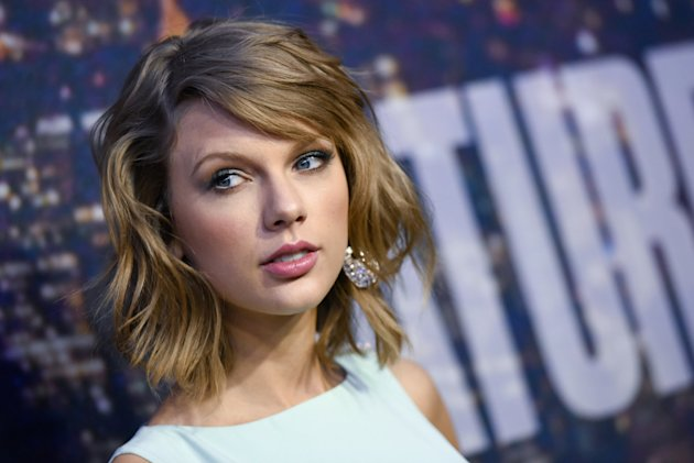 Don't correct Taylor Swift on her grammar, people. Copyright [AP]