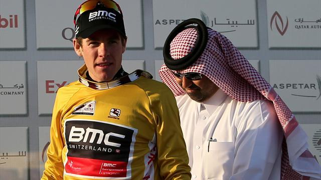 Cycling - Bookwalter retains Qatar lead as BMC beat Sky