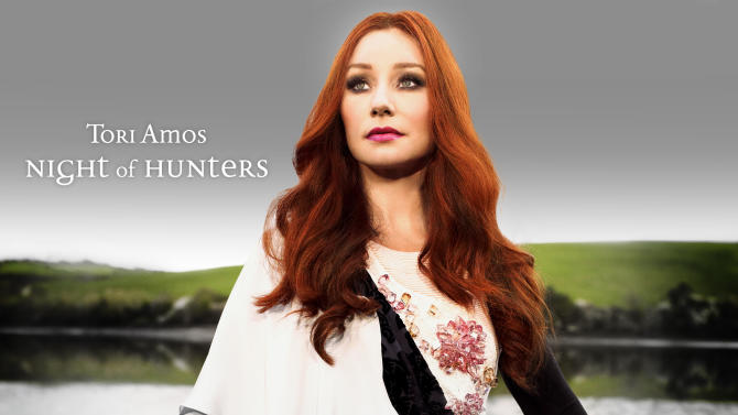 "In this CD cover image released by Deutsche Grammophon, the latest release by Tori Amos, ""Night of Hunters"" is shown. (AP Photo/Deutsche Grammophon)"