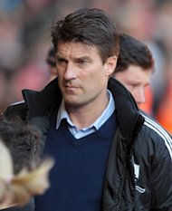 Swansea City manager Michael Laudrup saw his side hammered 5-0 at Liverpool on February 17, 2013. The Dane played a weakened team ahead of the League Cup final against Bradford City on Sunday