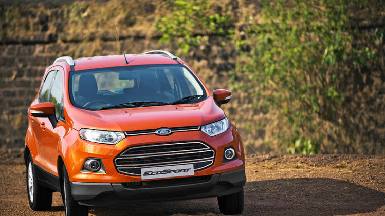 Ford launches EcoSport at Rs. 5.59 lakh