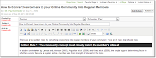 Why Your Online Community Should Include Blogs (Part 1 of 2) image why blog online community platform