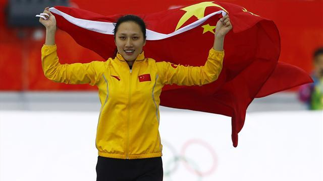 Speed Skating - China's Zhang wins shock 1,000m gold