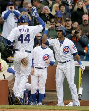 Rizzo and Castillo power Cubs over Cardinals 6-5