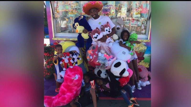 Former NBA Star Banned from Games at Fair for Winning Too Much