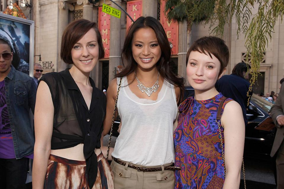 Legend of the Guardian LA Premiere 2010 Jena Malone Jaime Chung Emily Browning