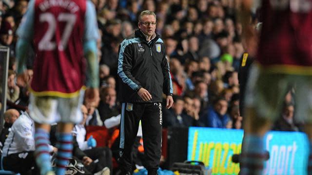 Premier League - Managers: Lambert demands fight from Villa players