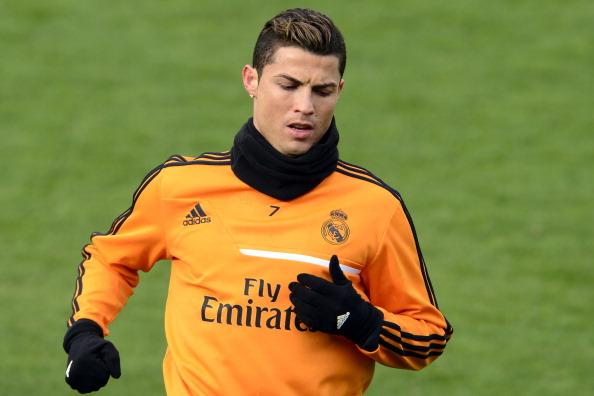 Cristiano Ronaldo returns to training ahead of Champions League clash against Bayern Munich