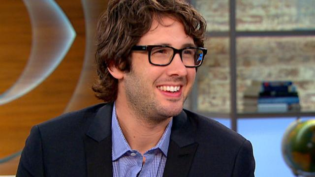 Josh Groban on Twitter humor and new album