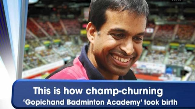 This is how champ-churning 'Gopichand Badminton Academy' took birth
