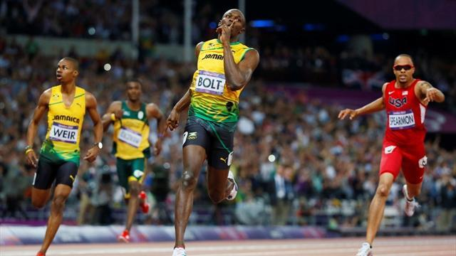 Olympic Games - Bolt claims historic 200m gold at Olympics
