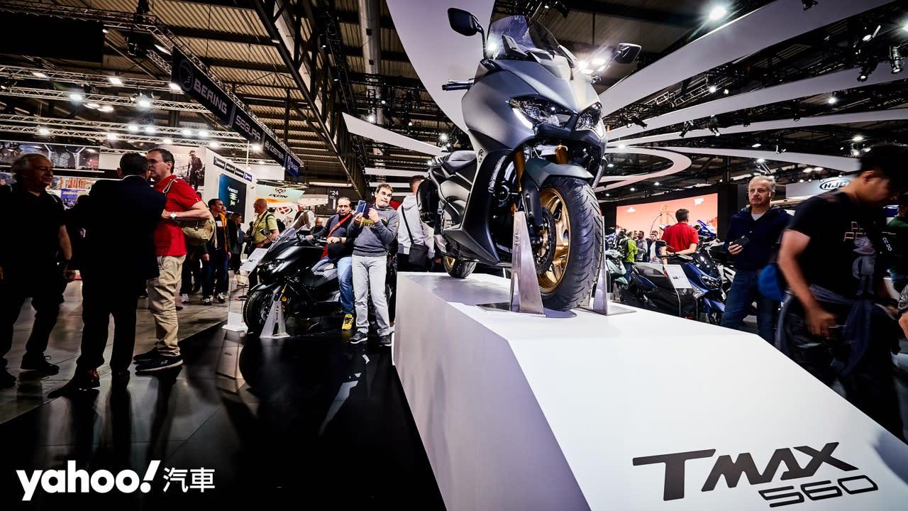 【新車圖輯】性能升級更張狂!2020 Yamaha TMAX歐洲率先登場