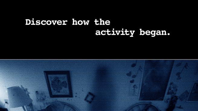 Paranormal activity 3 Paramount Pictures 2011