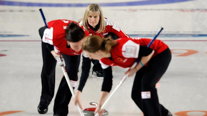 World Women's Curling Championship - Day Eight