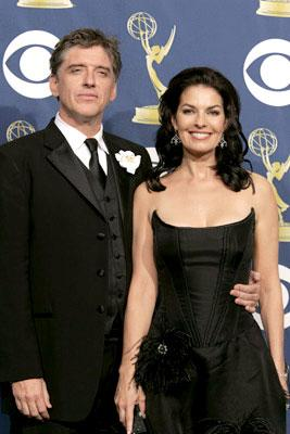 Presenters Craig Ferguson and Sela Ward 57th Annual Emmy Awards Press Room - 9/18/2005