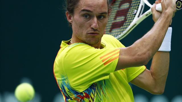 Tennis: Top seed Dolgopolov suffers shock Moscow exit