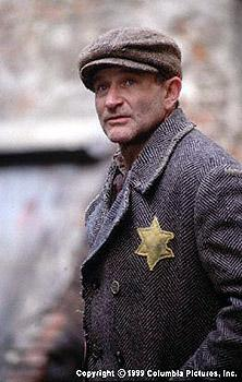 Robin Williams as poor Jewish cafe owner Jakob Heym in Jakob The Liar