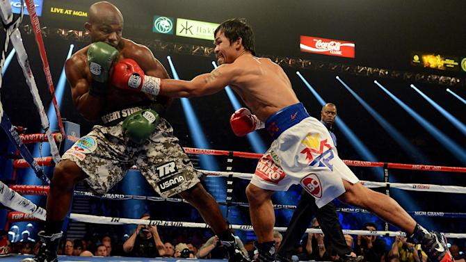 Boxing - Manny Pacquiao to wear £1.5 million shorts in Mayweather bout
