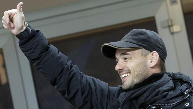 Italian Serie A - Galatasaray complete Sneijder coup