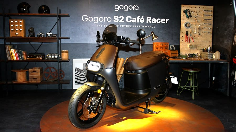 Gogoro S2 Adventure / Gogoro S2 Café Racer 撼動上市