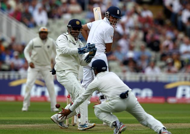 England v India: 3rd npower Test - Day Two