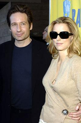 David Duchovny and Tea Leoni BAFTA/LA Tea Party - 1/15/2005 Park Hyatt Hotel, Los Angeles, CA