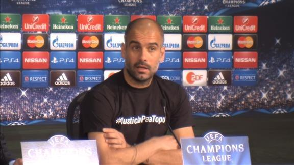 Guardiola warns Porto: 'We are very confident'