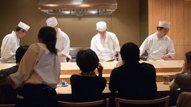 NYC Sushi Restaurant's Ban on Tips Perplexes Diners