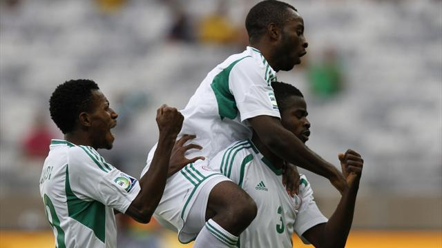 Confederations Cup - Tahiti score but get trounced by Nigeria
