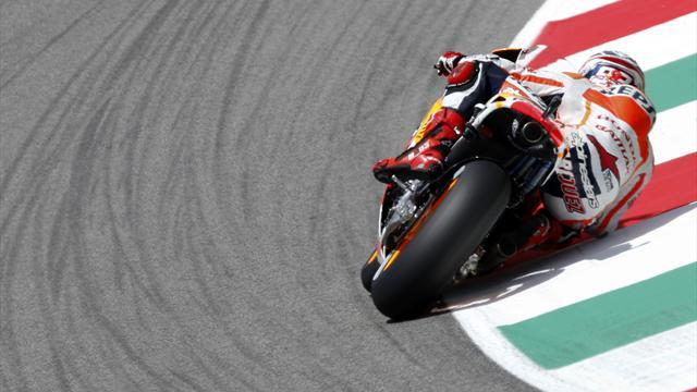 Motorcycling - Marquez fastest on first day at Laguna