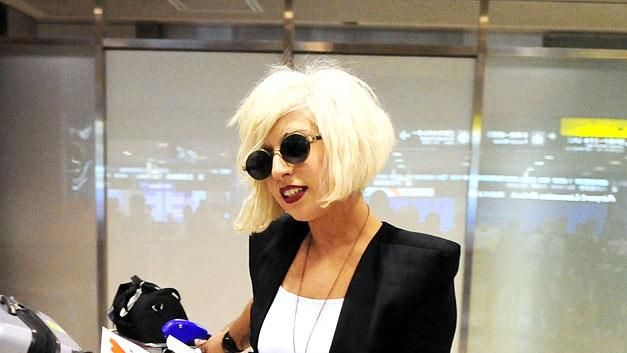 Lady Gaga Japan Airport
