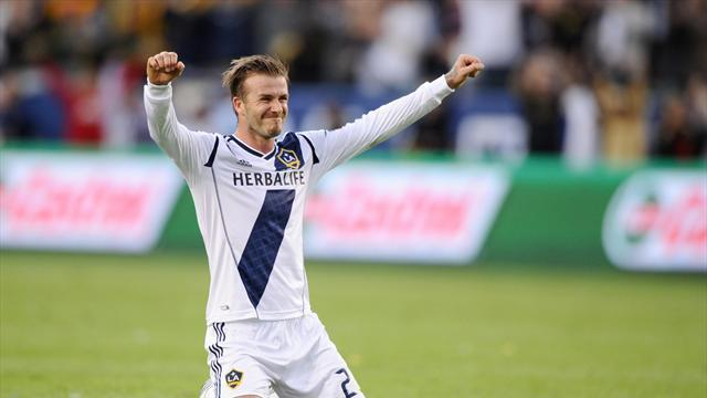 Premier League - Beckham training with Arsenal, but won't sign